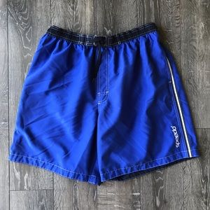 Speedo Men's Blue Swim Trunks